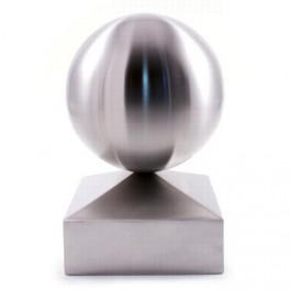 Finition de poteau 90x90mm + sphère Ø 90mm