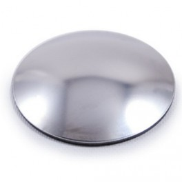 Platine bombée en inox, différents diamètres