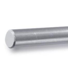 Barre ronde pleine en Inox pour barres et lisses transversales, Barre de 3000mm