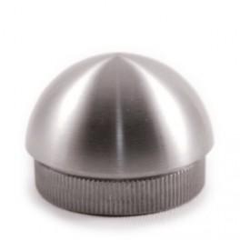 Bouchon demi-sphère en Inox pour tube